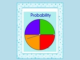 Probabilty lesson including vocabulary, ratios, activities, and assessment