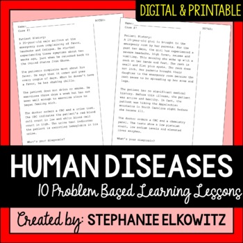 Problem-Based Learning Disease Diagnosing Activities