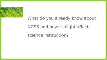 Problem Based Learning, Engineering and the NGSS