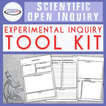 Self-Directed Learning: Inquiry Tool Kit {Google Classroom™ Distance Option}