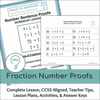 Fraction Number Sentence Proofs (3.NF.A.1)