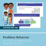 Problem Behavior in the Community Parent Training (ABA)