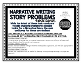 Problem/Conflict Task Cards for Pre-Writing/Planning in Narrative Writing