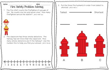 Problem Detectives: Weekly Word Problems for First Grade {Common Core Aligned}
