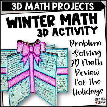 Word Problem Presents - A December Math Craftivity