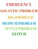 Problem Size Activity