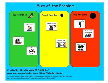 Problem Size Sorting Activity