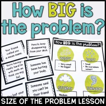 Problem Sizes Lesson Plan With Weather Theme Low No Prep Tpt