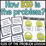 Problem Sizes Lesson Plan With Weather Theme LOW-NO PREP