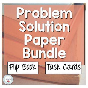 Problem Solution Essay Bundle By Lets Get Literature  Tpt Problem Solution Essay Bundle