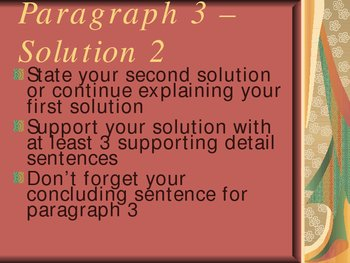 Problem Solution Essay Powerpoint