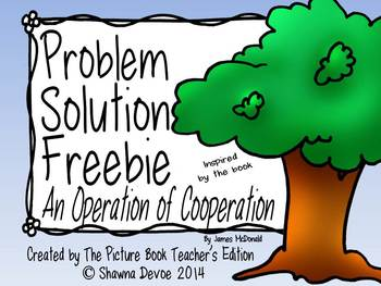 Problem Solution Freebie for An Operation of Cooperation by James McDonald