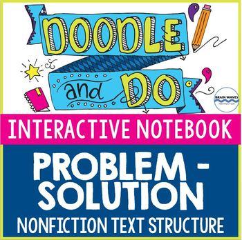 Problem-Solution Nonfiction Text Structure - Sketch Notes