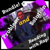 Black Panther Movie, Problem & Solution Reading Passage Activities with Rap Song