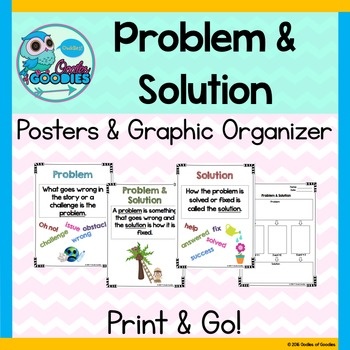 Problem & Solution (Posters and Graphic Organizer)