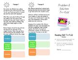 Problem & Solution Reading Skill Tri-fold
