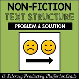 Problem & Solution -- Non-Fiction Text Structure Resource