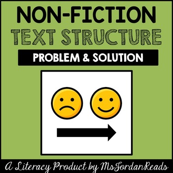 Problem and solution text structure example
