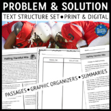 Problem and Solution Text Structure Reading Comprehension Passages