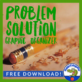 Problem Solution Tree Graphic Organizer FREE