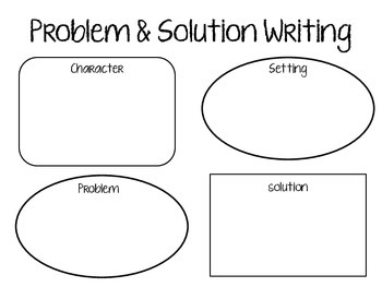 Problem & Solution Writing Activities