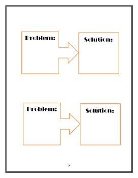 Problem-Solution chart