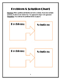 Problem-Solution chart