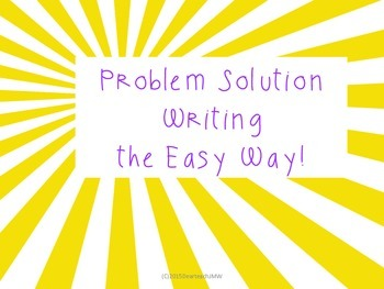 Problem Solution the Easy Way