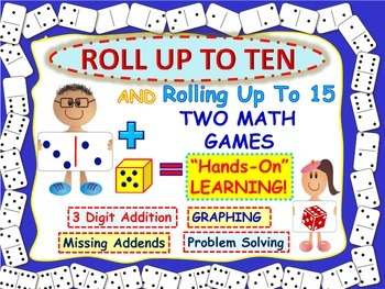 Dice Games For Addition: Problem Solving Fun!