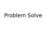Problem Solve Mathematics