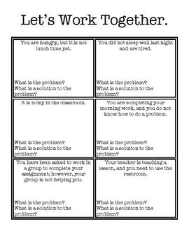 Problem Solver Task Cards