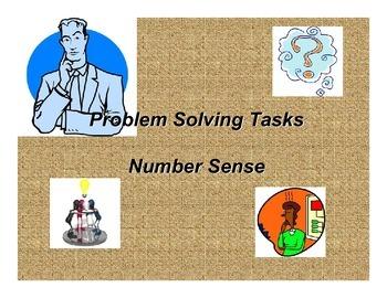 Problem Solver Tasks: Number Sense