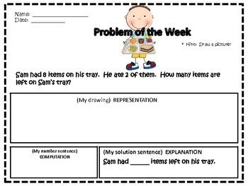 Problem Solver of the Week