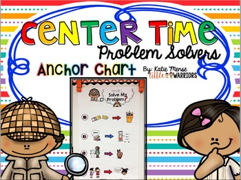 Problem Solvers Anchor Charts for Center Time