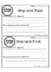 Problem Solvers {Student Behavior Reflection Sheets}