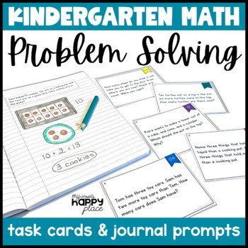Problem Solving Task Cards and Journal Prompts