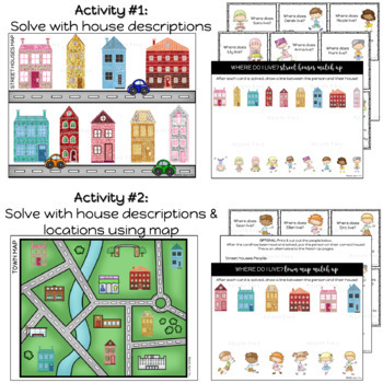 Problem Solving Houses: Multi-Level Activities