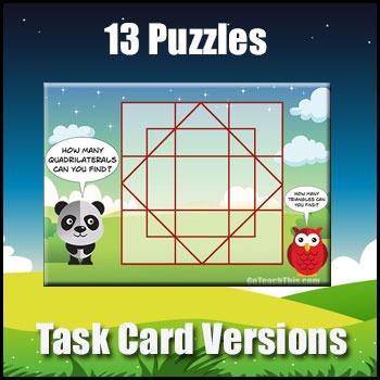 Problem Solving Bundle - Task Cards to Develop Problem Solving Skills