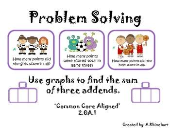 Problem Solving 3 Addends