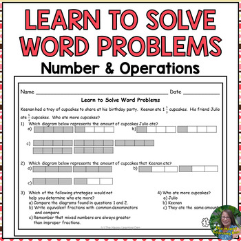 Number and Operations Problem Solving Intervention