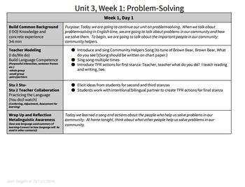 Problem-Solving Bundle 5 Week Unit