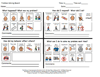 Problem Solving Activity - Primary and Junior Sheets