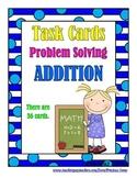 Problem Solving:  Addition Word Problems - Task Cards