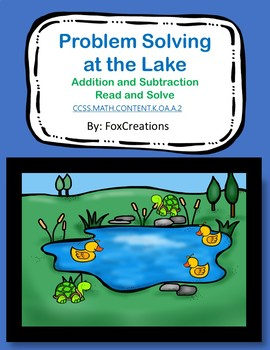 Problem Solving Addition and Subtraction up to 10 ~ Lakeside Theme Center