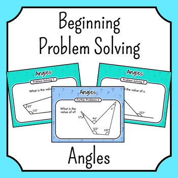 Problem Solving - Angles