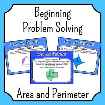Problem Solving - Area and Perimeter