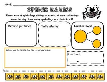 Problem Solving:  Bats, pumpkins, spiders