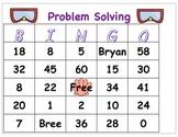 Problem Solving Beach Bingo