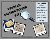 Problem Solving Binder Kit