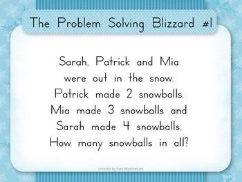 Problem Solving Blizzard Game